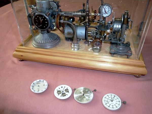 Dieselpunk часы. (Фото 7)