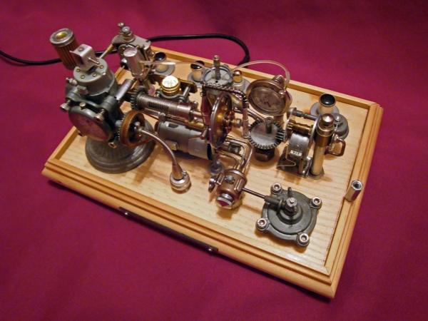 Dieselpunk часы. (Фото 18)