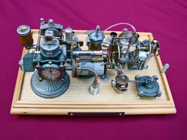 Dieselpunk часы. (Фото 15)