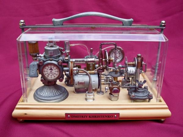Dieselpunk часы. (Фото 20)
