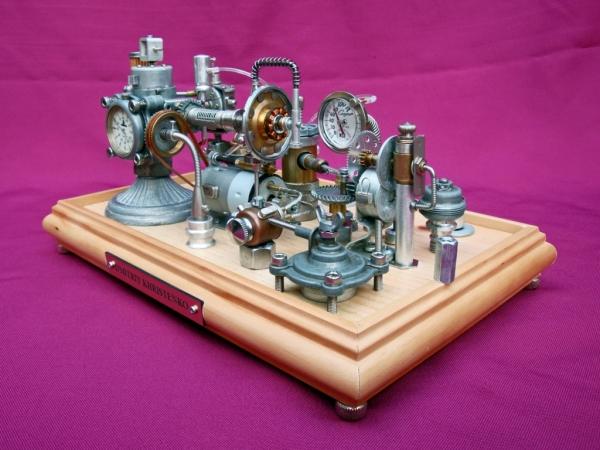 Dieselpunk часы. (Фото 14)