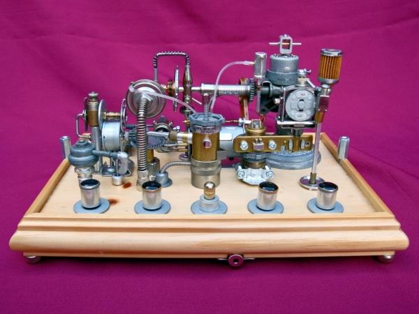 Dieselpunk часы. (Фото 12)