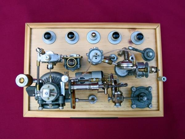 Dieselpunk часы. (Фото 16)