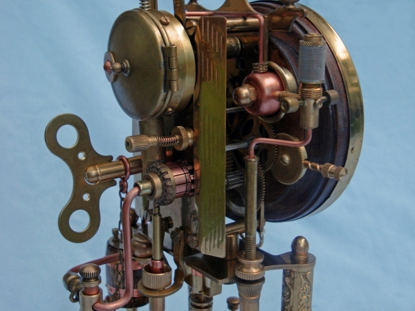 Steampunk Clock 2. (Фото 26)