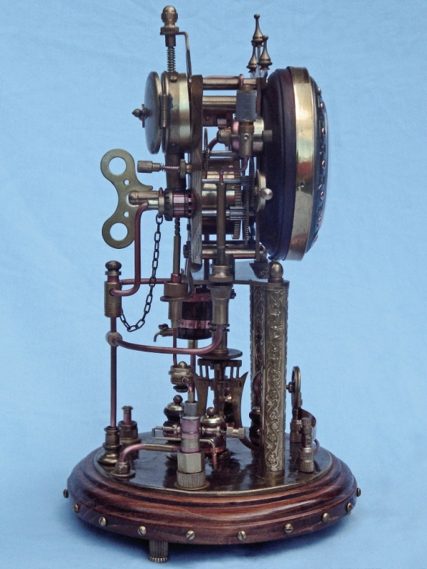 Steampunk Clock 2. (Фото 22)