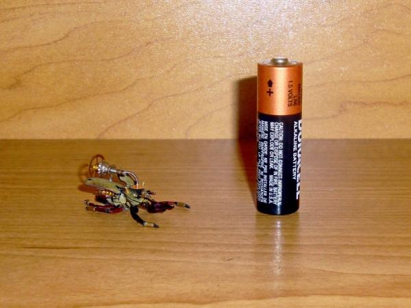 Мои насекомые Steampunk bugs. Жук-Рогач. (Фото 12)