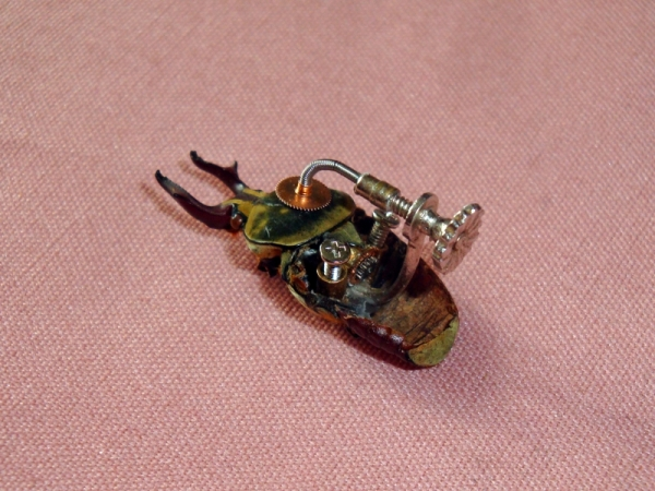 Мои насекомые Steampunk bugs. Жук-Рогач. (Фото 5)
