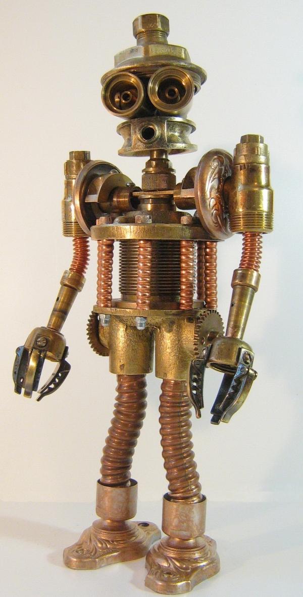 Стимпанк робот. Пра-пра-прадед Бендера (Фото 2)