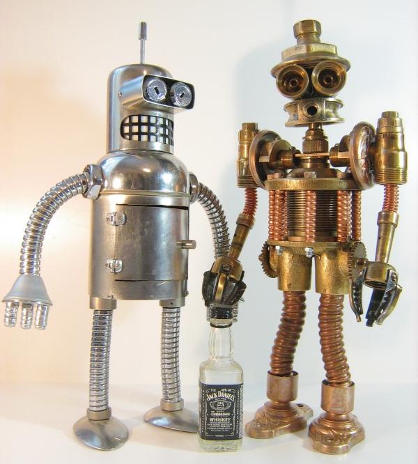 Стимпанк робот. Пра-пра-прадед Бендера (Фото 3)