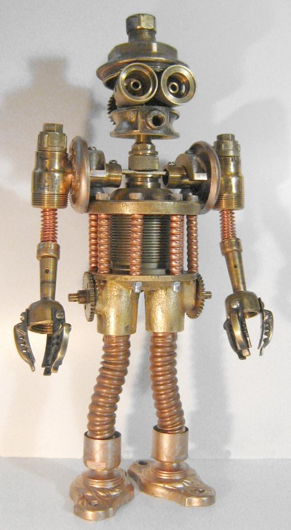 Стимпанк робот. Пра-пра-прадед Бендера