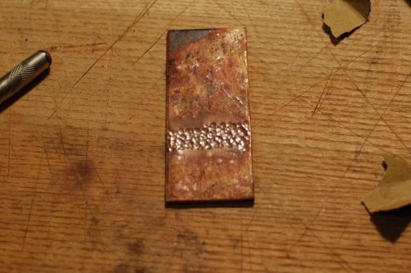 Первая сложная пайка серебром - 5 швов. Не стим но как то так) (Фото 4)