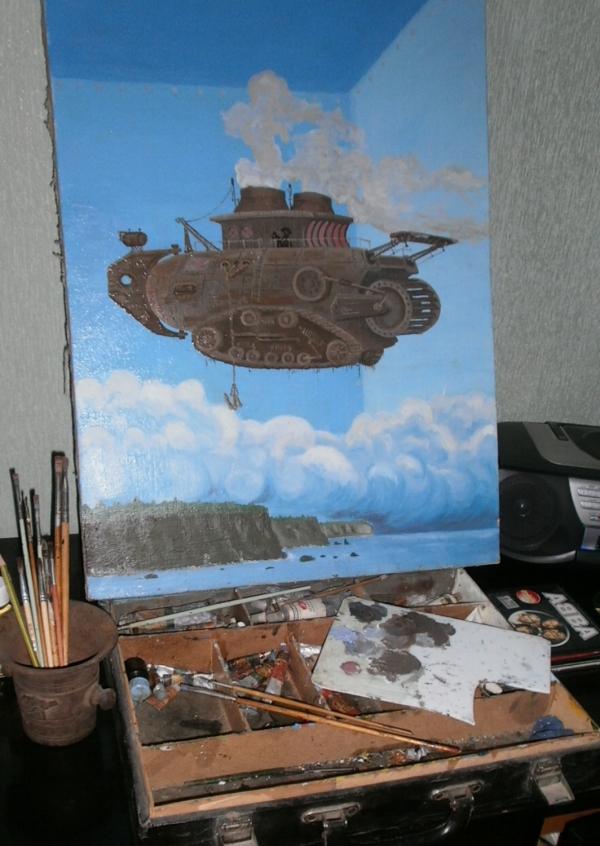 СтимпанкмультиКкласика.....или Картина Маслом. (Фото 4)