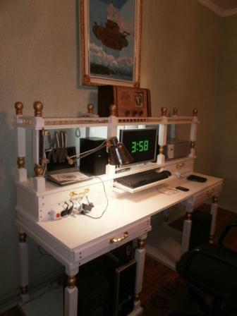 Стол начинающего стимпанкера...(не законченный...) (Фото 21)