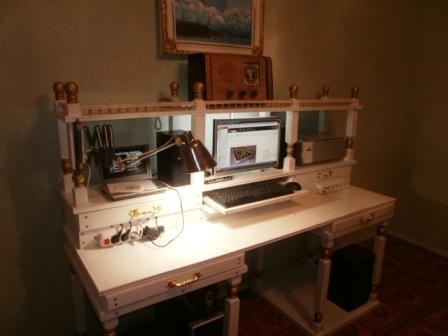 Стол начинающего стимпанкера...(не законченный...) (Фото 18)