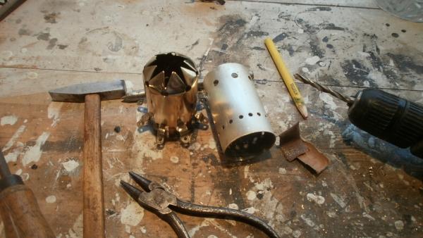 Стимсветильник.....продолжение оформления рабочего стола. (Фото 4)