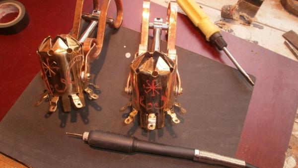 Стимсветильник.....продолжение оформления рабочего стола. (Фото 10)