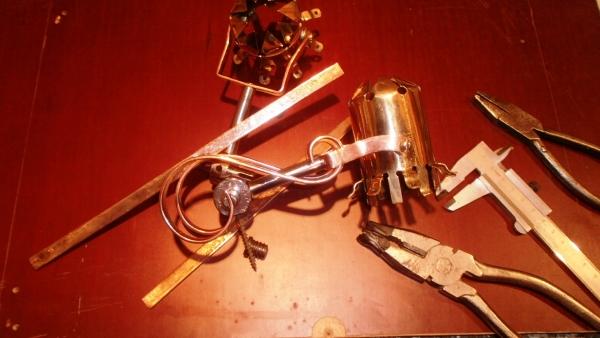 Стимсветильник.....продолжение оформления рабочего стола. (Фото 8)