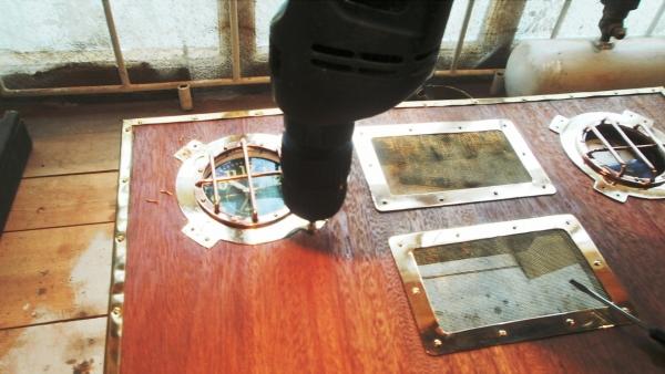 А вот и системник в деревянном корпусе....продолжение проекта. (Фото 41)