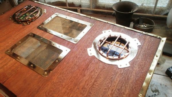 А вот и системник в деревянном корпусе....продолжение проекта. (Фото 45)