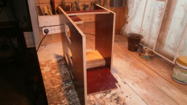 А вот и системник в деревянном корпусе....продолжение проекта. (Фото 6)