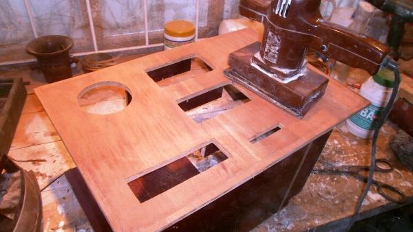 А вот и системник в деревянном корпусе....продолжение проекта. (Фото 18)