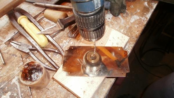 А вот и системник в деревянном корпусе....продолжение проекта. (Фото 57)