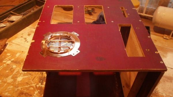 А вот и системник в деревянном корпусе....продолжение проекта. (Фото 16)
