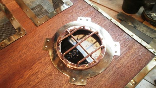 А вот и системник в деревянном корпусе....продолжение проекта. (Фото 44)