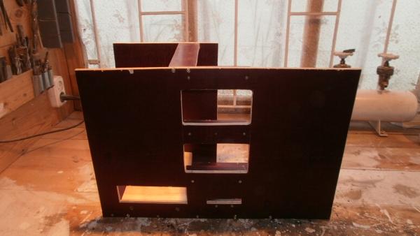 А вот и системник в деревянном корпусе....продолжение проекта. (Фото 5)