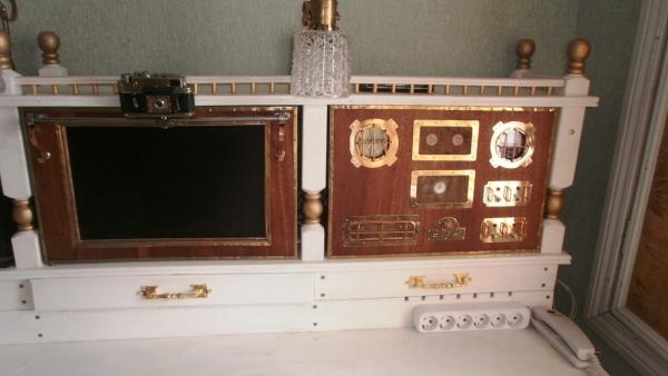 А вот и системник в деревянном корпусе....продолжение проекта. (Фото 92)