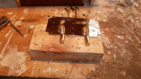 А вот и системник в деревянном корпусе....продолжение проекта. (Фото 74)