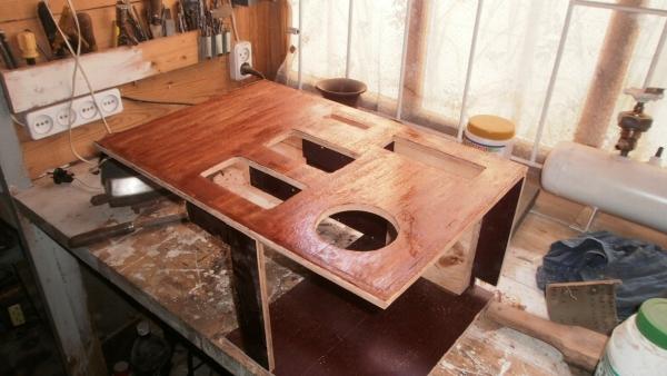 А вот и системник в деревянном корпусе....продолжение проекта. (Фото 19)
