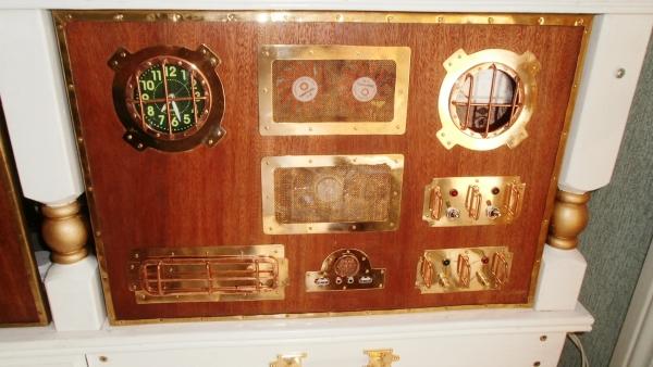 А вот и системник в деревянном корпусе....продолжение проекта. (Фото 87)