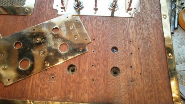 А вот и системник в деревянном корпусе....продолжение проекта. (Фото 67)