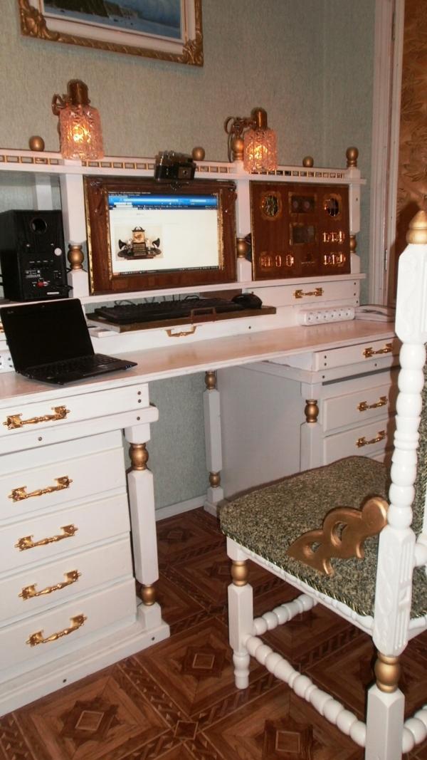 А вот и системник в деревянном корпусе....продолжение проекта. (Фото 90)