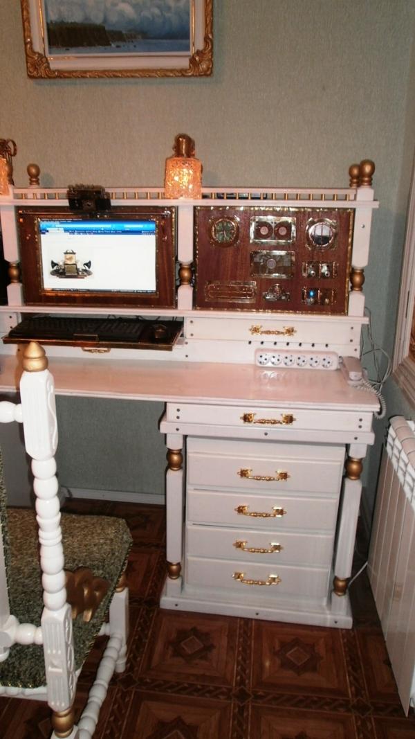 А вот и системник в деревянном корпусе....продолжение проекта. (Фото 89)