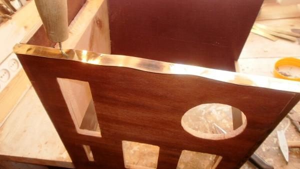 А вот и системник в деревянном корпусе....продолжение проекта. (Фото 22)