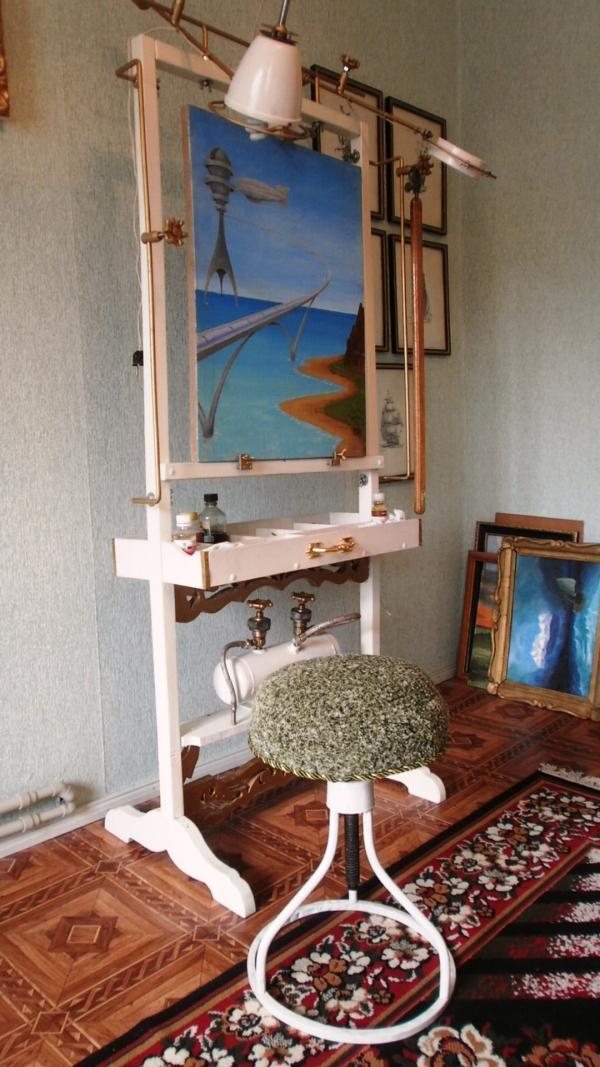 Мольберт- мечта художника стимпанкера....(незаконченный) (Фото 14)