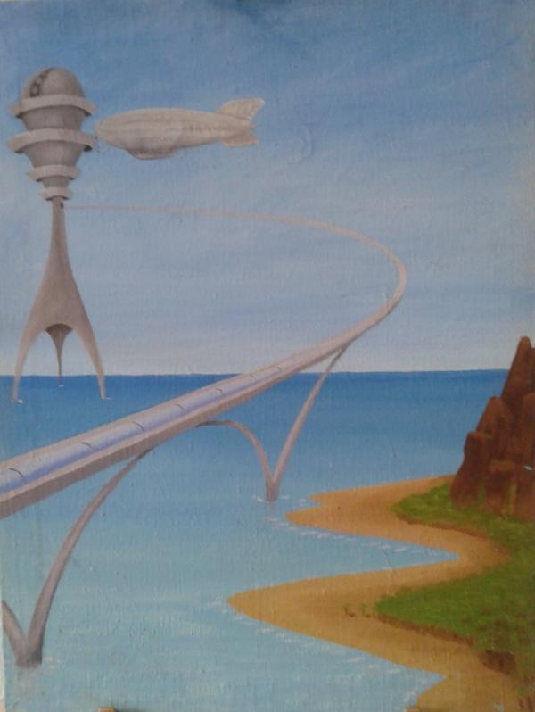 Мольберт- мечта художника стимпанкера....(незаконченный) (Фото 24)