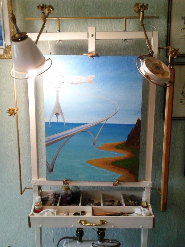 Мольберт- мечта художника стимпанкера....(незаконченный) (Фото 22)