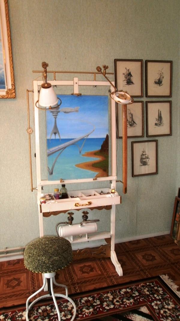 Мольберт- мечта художника стимпанкера....(незаконченный) (Фото 19)