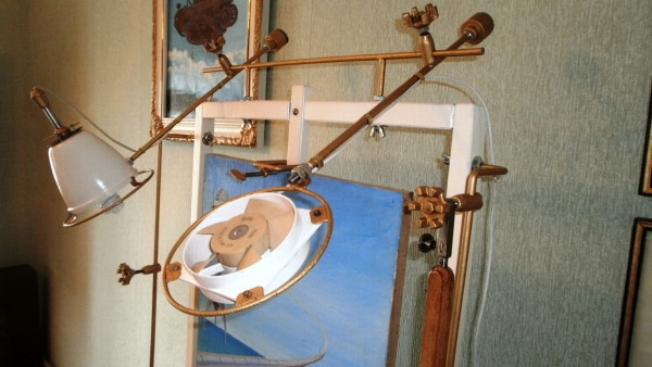 Мольберт- мечта художника стимпанкера....(незаконченный) (Фото 10)