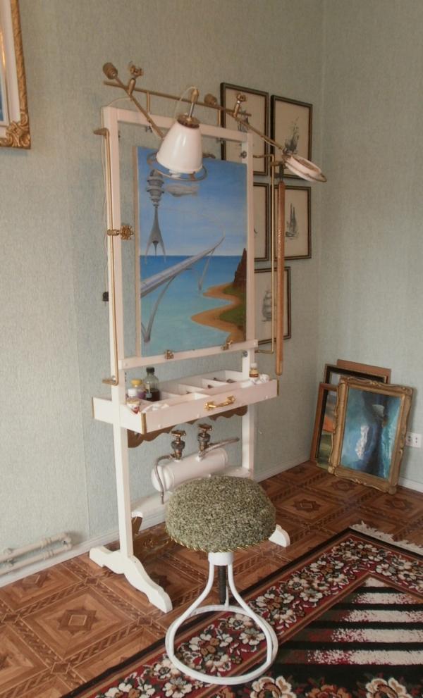 Мольберт- мечта художника стимпанкера....(незаконченный) (Фото 18)