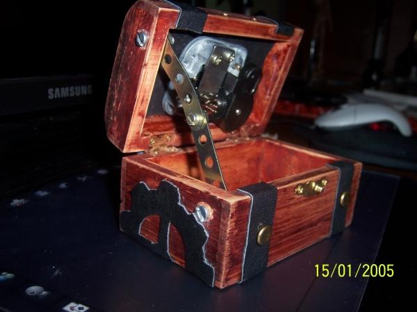 Steampunk музыкальная шкатулка by Mr. Apple (Фото 4)