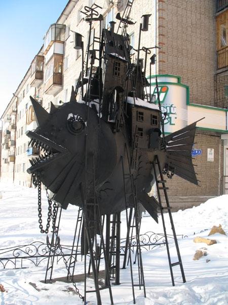 Омский скульптор стимпанка (Фото 3)