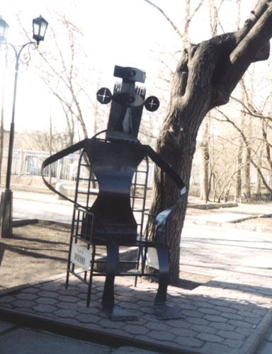 Омский скульптор стимпанка (Фото 6)