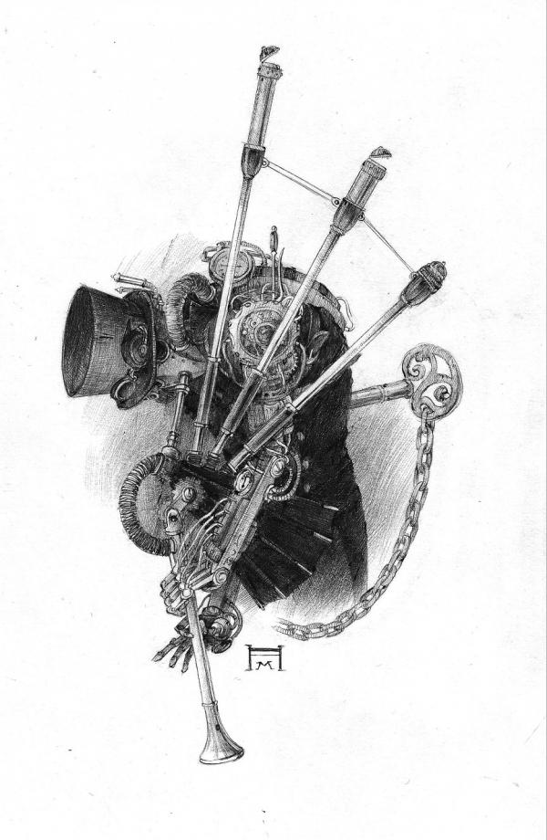 Механический Волынщикъ