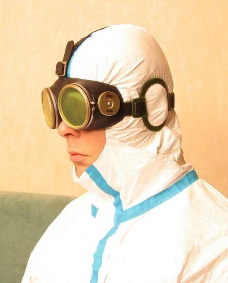 """Очки ОПФ специальные для защиты глаз военнослужащего от светового, ИК и УФ излучения ядерного взрыва с технологией """"Хамелеон"""""""