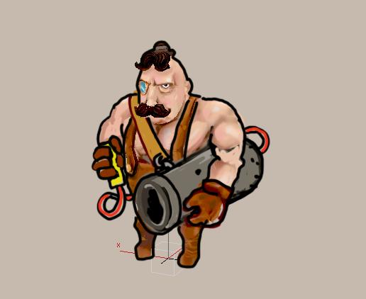 Ручная пушка лорда Клонингтона