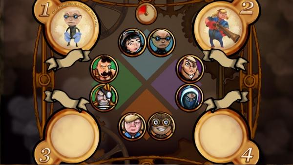 Вот так пока выглядит меню где выбирают персонажей. Нехватает только мелких деталей